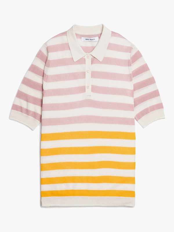 Женское поло Norse Projects Women Majken Stripe