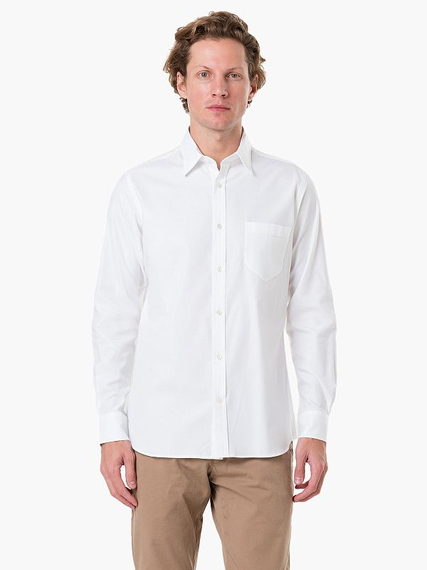 Рубашка Private White Button Down Shirt Cotton Oxford