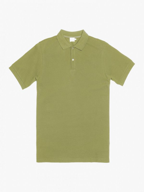 Мужское поло Sunspel Short Sleeve Pique Polo